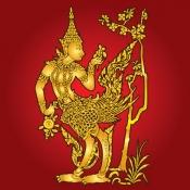กินนรลายไทย
