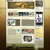 Chopper Template PSD